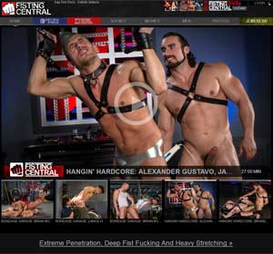 Fisting Central - Gay Fisting Fetish Videos