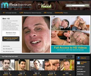Welcome to His First Facial - Gay Cum and Gay Blowjobs!